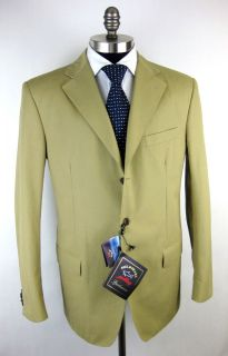 New PAUL & SHARK Yachting Italy Cotton Coat Jacket Blazer 54 44 XL NWT