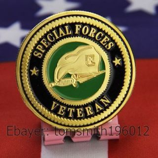 army special forces veteran military challenge coin 720