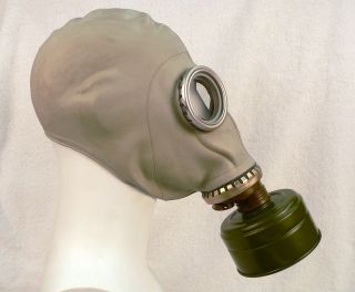 ussr russian military gas mask kit  22