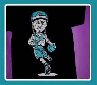 Cajmear Lil Wayne YMCMB New Orleans Hornets shirt saints trukfit Weezy