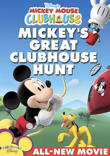 Disneys Mickey Mouse Clubhouse Mickeys Great Clubhouse Hunt DVD