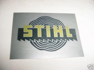 stihl chainsaw 020 041 056 045 070 090 decal sticker