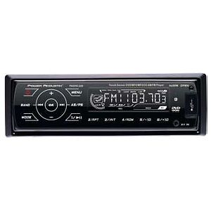 Acoustik Padvd 220 Car Dvd Player Pal, Ntsc   Dvd rw, Cd rw, Secure