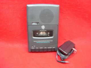 ge 3 5027a personal portable recorder cassette player time left
