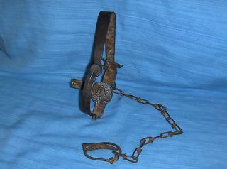 vintage small animal metal trap time left $ 9 99