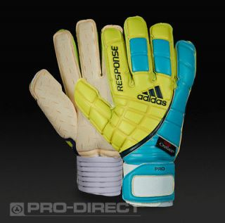 ADIDAS RESPONSE PRO MOTION ARRESTER GOALIE GLOVEs (sz 11.0)