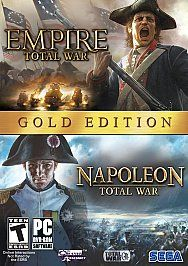 Empire Total War Napoleon Total War Gold Edition PC, 2010