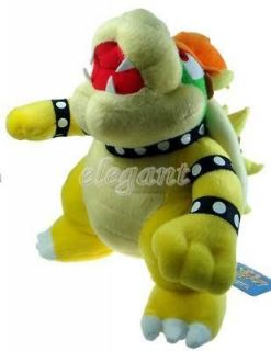 Nintendo Super Mario Brother Bros Party Bowser 10 Soft Plush Doll