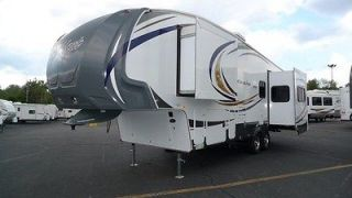 2013 293REX Wildcat Extralite Fifth Wheel Triple Slide Rear