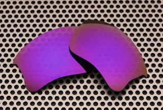 Polarized Plasma Purple Replacement Lenses for Oakley Flak Jacket XLJ
