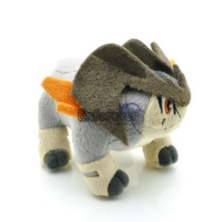 Newly listed Pokemon 4.5 Terrakion BW Plush Toy Doll New^PC1777