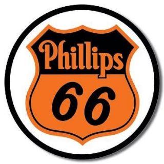 Phillips 66 Gas Gasoline Station Advertising Tin Sign Service Garage