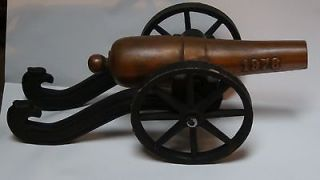 ANTIQUE DECORATIVE SOLID BRONZE WITH CAST IRON CARRIAGE MEMORABIA