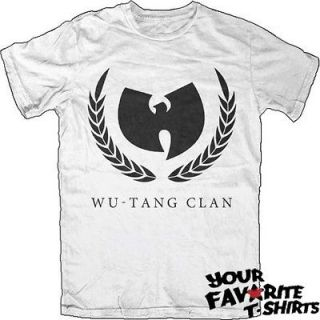 Wu Tang Clan Olive Branch Officially Licensed Adult Shirt S XL
