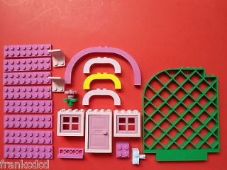 LEGO GIRL COLOR rare part LOT FRIENDS Paradisa Belville Dark PINK
