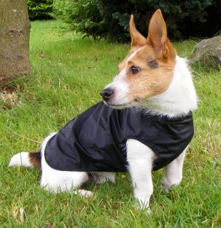 Lightweight Nylon Step in Suit Dog Coat. Full body cover. Waterproof