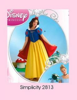 Snow White Cinderella Dress Simplicity Pattern 2813 Misses size 6 t