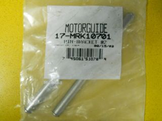 motorguide 1 trolling motor pin bracket 17 mrk10701 time left