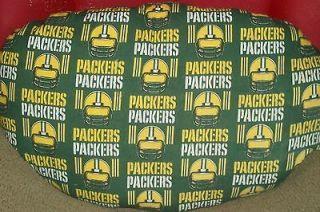 NFL Green Bay Packers Football Fan Gift Pillow Dog Pet Beds NWT MEDIUM
