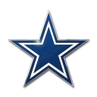Cowboys Die Cut Metal Auto Emblem [NEW] NFL Car Decal Sticker CDG