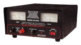 pyramid ps36k 32 amp power supply built in cooling fan