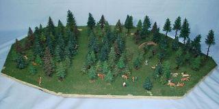 PREISER DEER FALLER TREES MADE IN GERMANY FOREST PARK MODEL RAILROAD