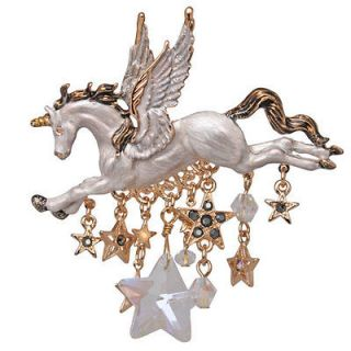 NEW KIRKS FOLLY KIRKS FOLLY STARDANCER PEGASUS UNICORN PIN CLOUDWALKER