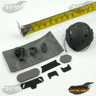 X47 22 1/6 Scale Toys City 9020 NAVY SEAL Combat Diver   Helmet w/ NVG