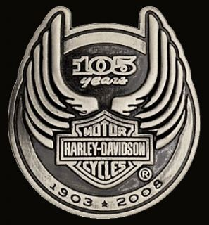 harley davidson 105th anniversary pin new  8