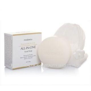 Mosbeau PLACENTA WHITE Facial Skin Whitening Anti Aging Soap w/ FREE