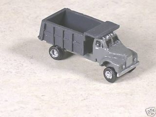 scale 1955 b model mack single axle truck time
