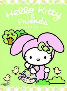 Hello Kitty & Friends Vol 7 Basket of Fun Anime DVD BRAND NEW ADV