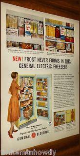 1959 ge model ha 13s aqua int vintage refrigerator ad
