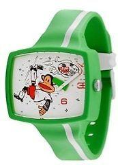 Paul Frank Julius & Friends Olympics Goal Green Plastic Watch TVJO06ML