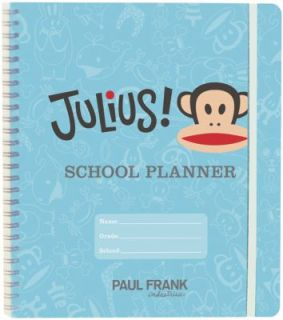 Julius School Planner by Paul Frank Industries Staff 2009, Paperback