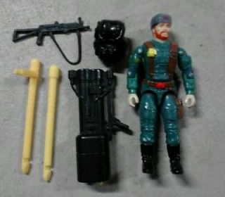 Vintage GI Joe 1992 Big Bear action figure 100% Complete VERY NICE