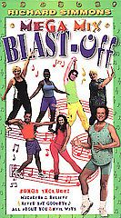 Richard Simmons   Mega Mix Blast Off VHS, 2002