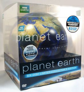 Planet Earth   The Complete Collection DVD, 2011, 6 Disc Set, Limited