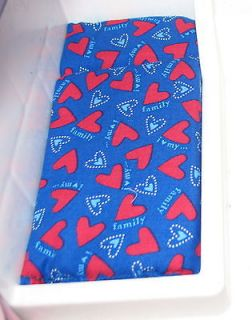 DOLLHOUSE BED MATTRESS for LITTLE TIKES BLUE WITH HEARTS mix &match
