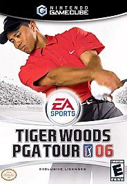 Tiger Woods PGA Tour 06 Nintendo GameCube, 2005