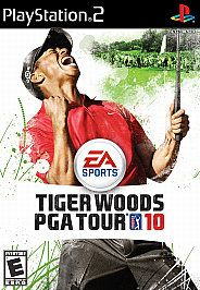 Tiger Woods PGA Tour 10 Sony PlayStation 2, 2009