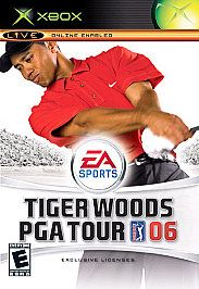 Tiger Woods PGA Tour 06 Xbox, 2005