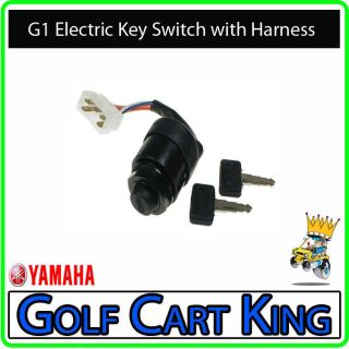 Yamaha G1 Electric Golf Cart Ignition Key Switch with Forward and