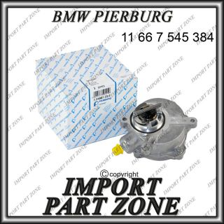 4i 4.​8is E70 X5 4.8i BRAKE VACUUM PUMP PIERBURG OEM (Fits Phantom