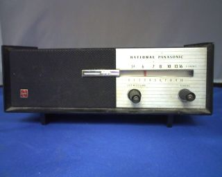 RARE NATIONAL PANASONIC 6 TRANSISTOR RADIO MODEL R 8 (10744B20)