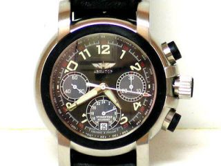 RUSSIAN Mechanical watch Chronograph (Buran)Aviator  INTERNATIONAL