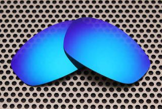 New VL Polarized HD Ice BlueLenses for Oakley Wind Jacket Sunglasses