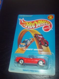 1998 HOT WHEELS SPECIAL EDITION 53 CORVETTE CONV. TOMARTS PRICE