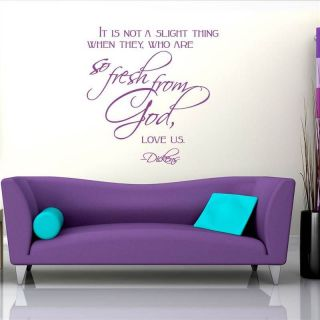 SO FRESH FROM GOD NURSERY QUOTE WALL ART STICKER, WALL MURAL, WALL