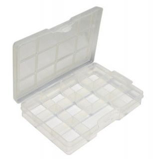 Newly listed Clear Plastic Box Case 24 compartments Beads Display